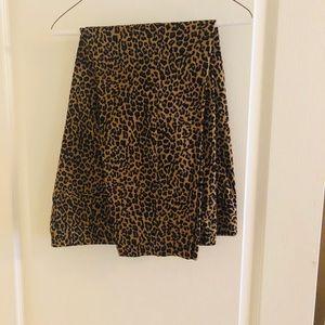 Leopard print pixie pants